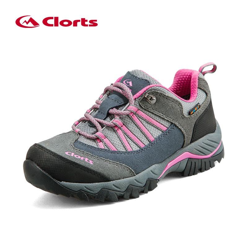 Women's Suede Leather Waterproof Backpacking Trekking Trail Shoe