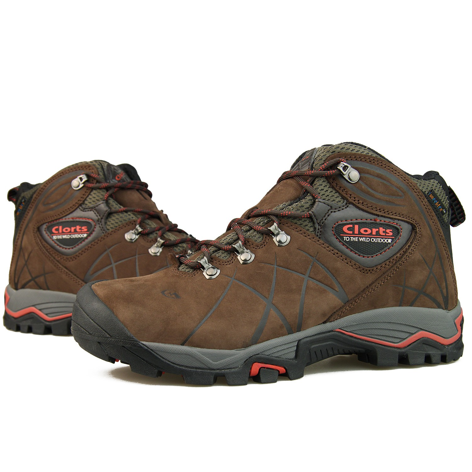 Rugged Mountaineering Hiking Boots