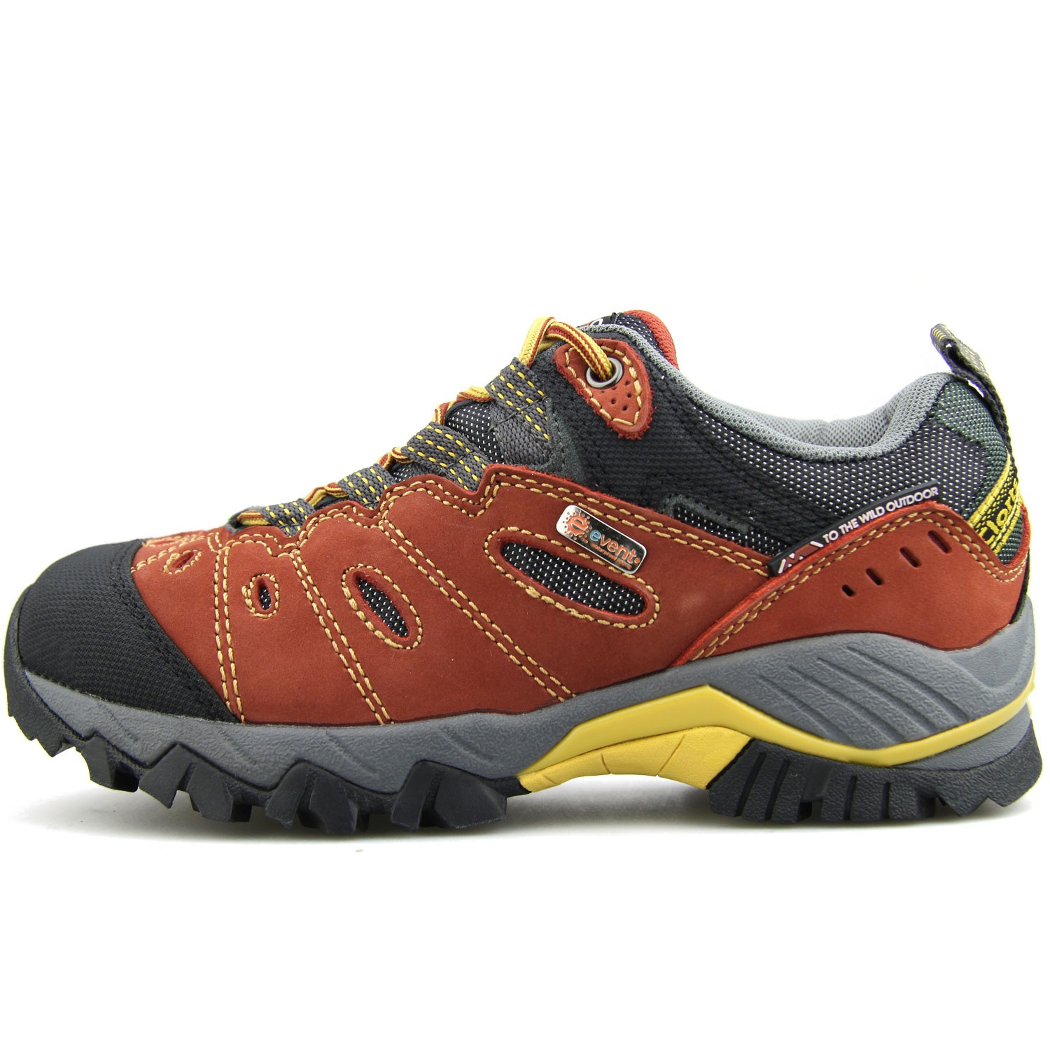 Women's Hiking Shoe Suede Leather Waterproof Trekking Trail Shoe
