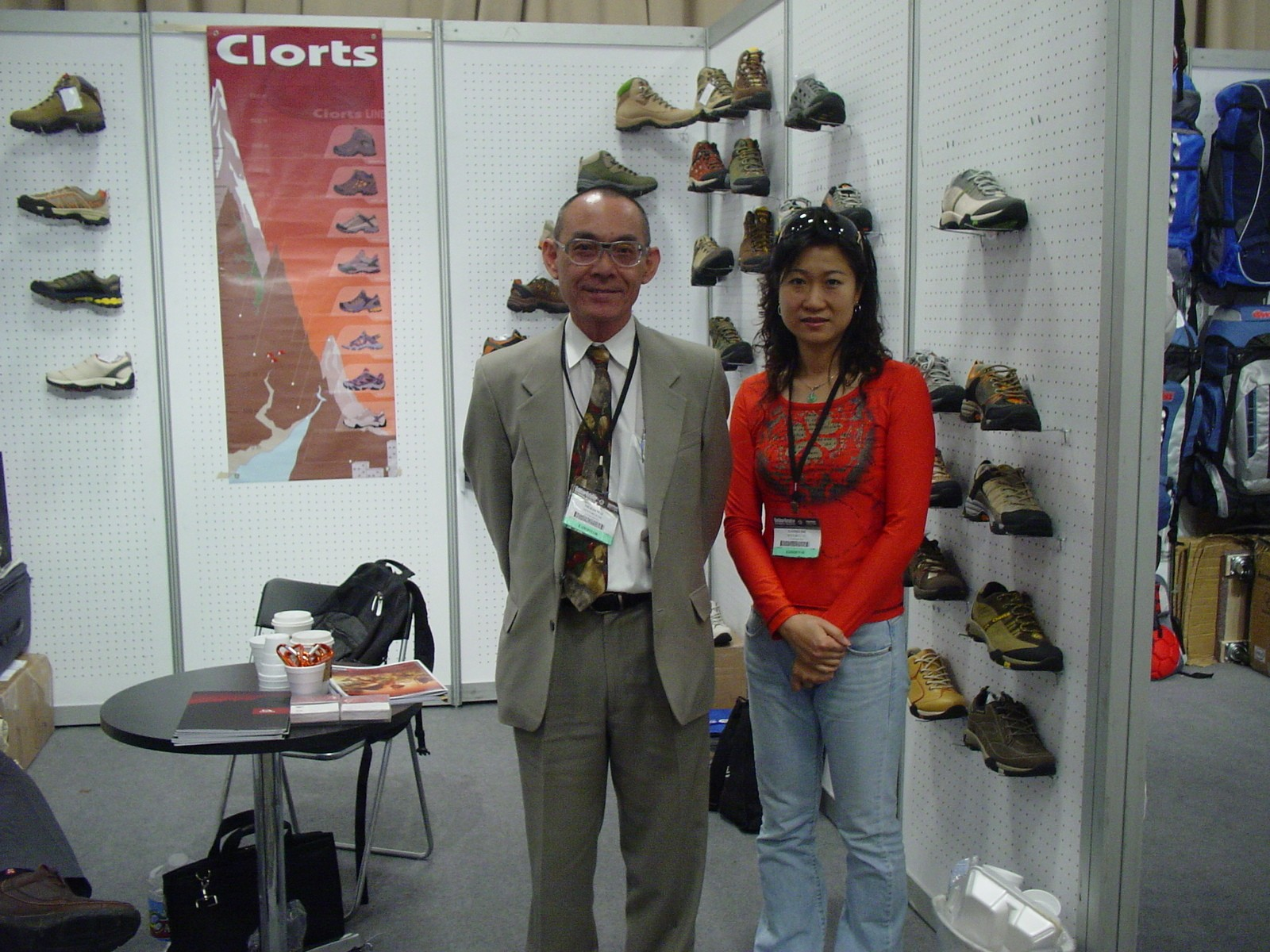 July 2007 USA  Las Vegas WSA Summer International Footwear Fair