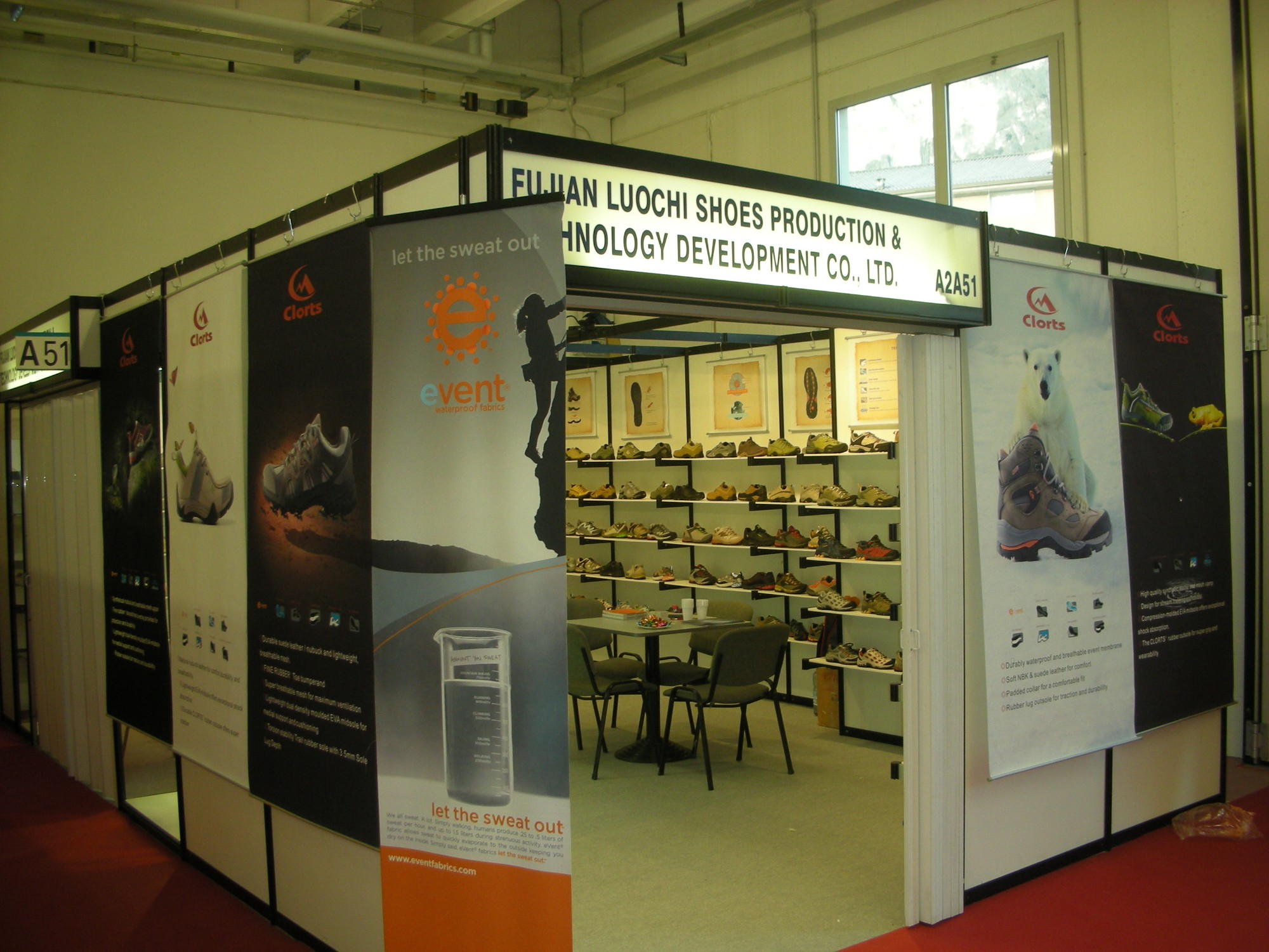 January 2009 Italy Cadia International Footwear Fair