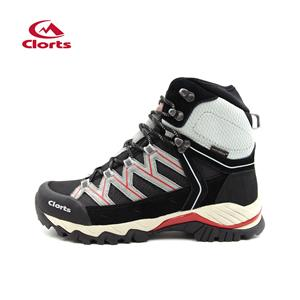 Clorts Mens Mountaineering Hiking Boots White