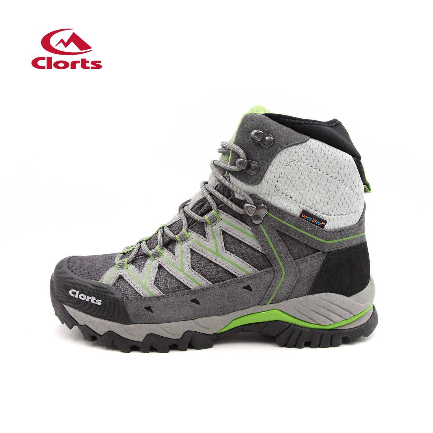 Clorts Adults Backpacking Hiking Boots Green