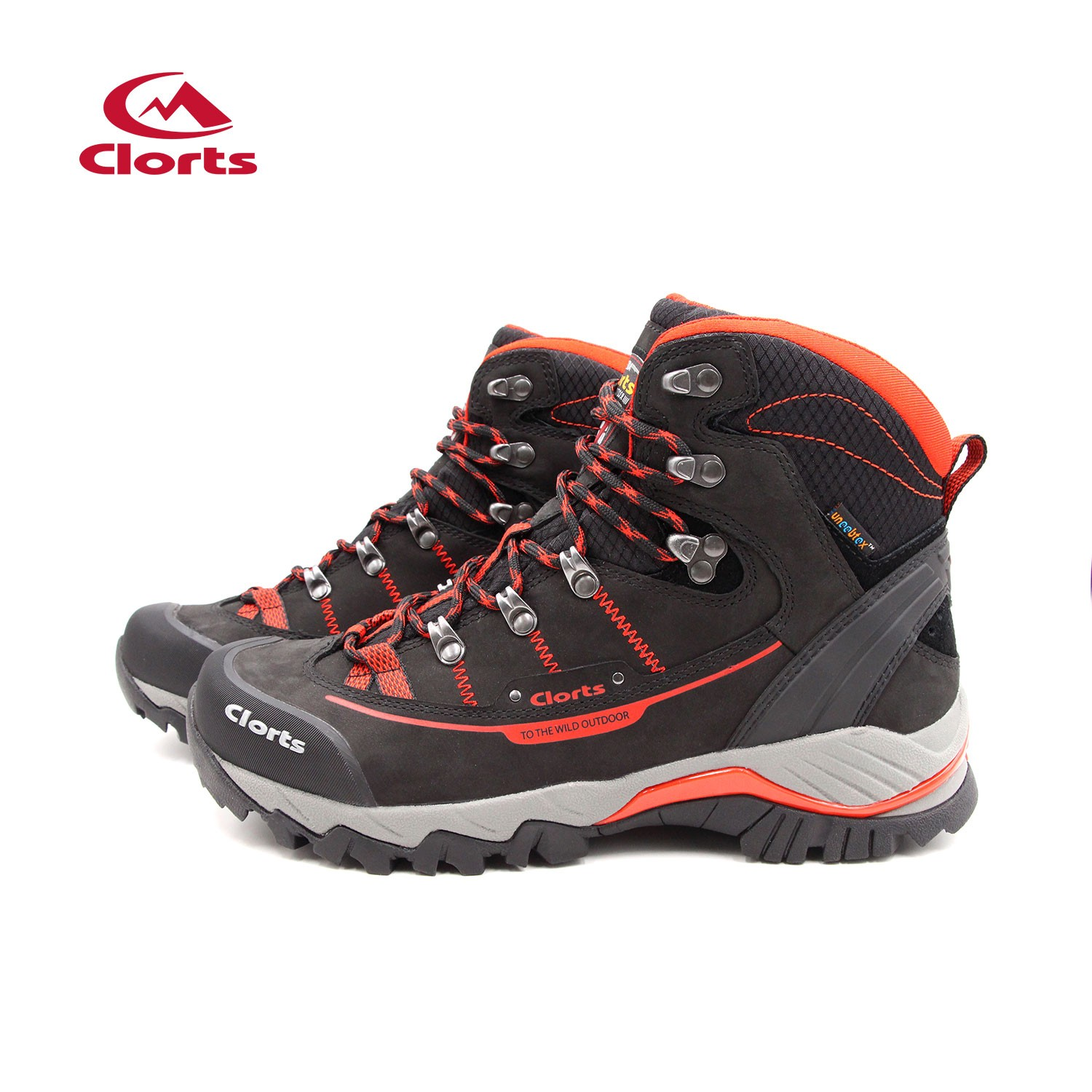 Clorts Mens Full-Grain Outdoor Waterproof Trekking Boots Red Manufacturers, Clorts Mens Full-Grain Outdoor Waterproof Trekking Boots Red Factory, Supply Clorts Mens Full-Grain Outdoor Waterproof Trekking Boots Red