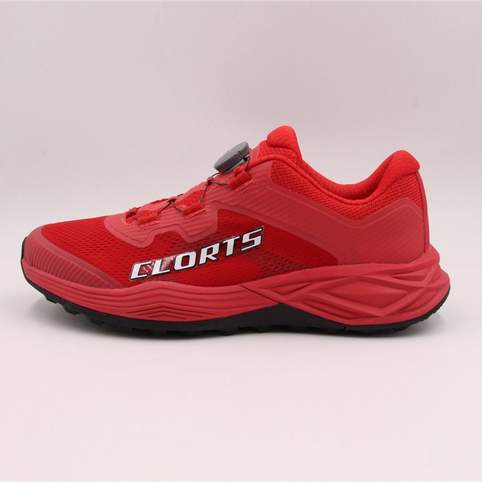 Clorts Herrar Road Racing Sneakers Red