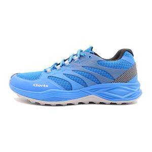 Clorts Womens Mens Running Work-out Shoes Blue