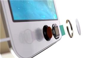 Application of fiber optic plate in the fingerprint sensors