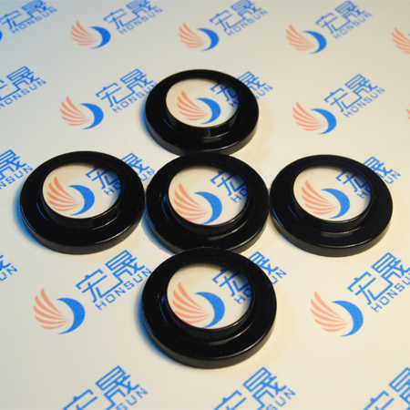 Anti-vignetting Glass Window Plate