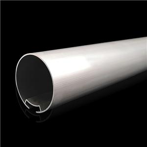 38mm Raw Aluminium Roller Round Tube