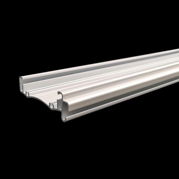 Aluminium White Color Roller Blind Headrail