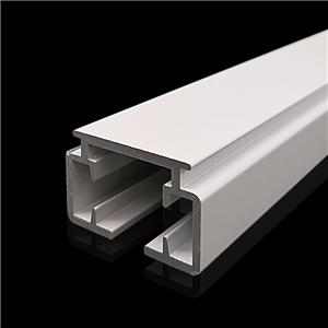 Aluminium Electric Heavy White Curtain Track