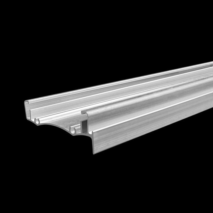 Raw Aluminium Roller Blind Headrail