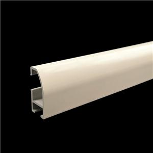 Powder Coated Aluminium Curtain Rail