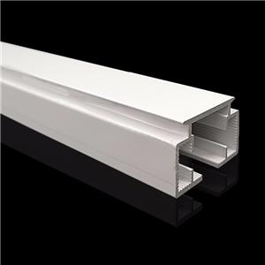 Modern Aluminium Electrophoresis Curtain Track