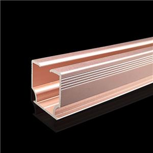 Aluminium Extruded Curtain Rail Track