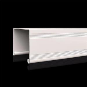 Aluminium Profile For Venetian Blinds Headrail