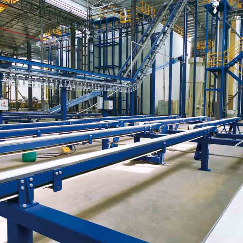 4 Powder Coating Lines