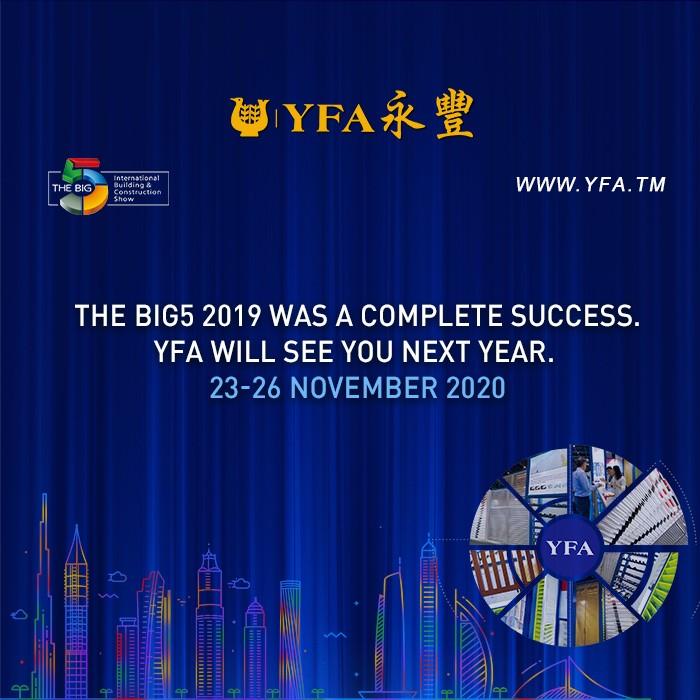 YFA will see you on THE BIG5 DUBAI next year