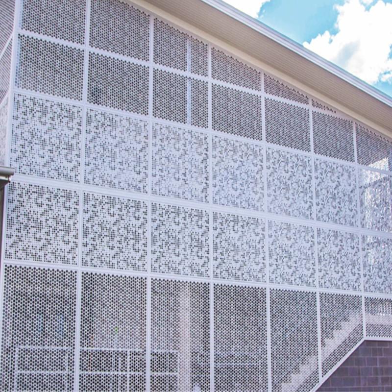Decorative And Sunshade External Aluminum Louver
