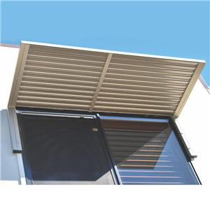 Aluminum Exterior Louver For Outdoor