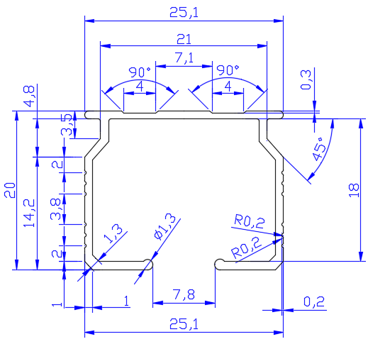 curtain track with bracket