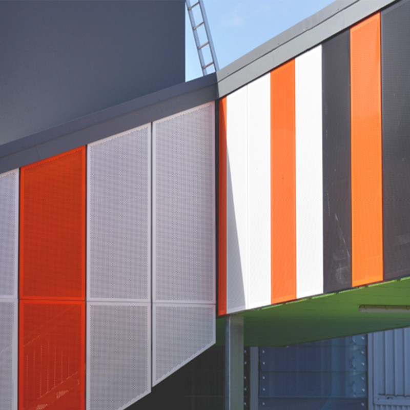 Aluminium Decorative Panel Louver