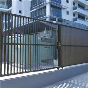 Aluminium Double Swing Gate