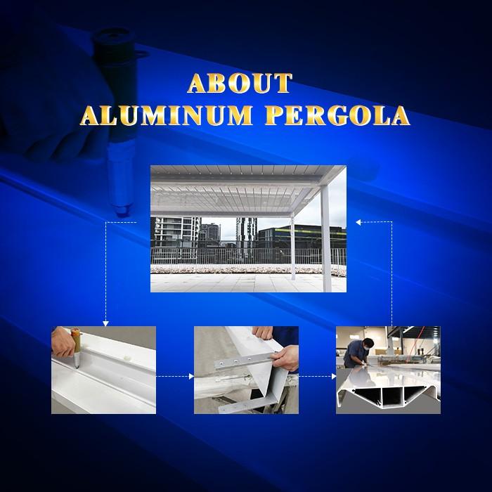 About Aluminum Pergola