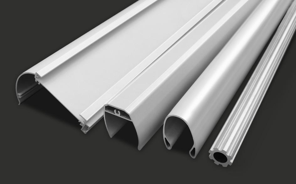 窗帘导轨铝型材