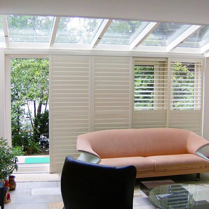 室内推拉式全铝百叶窗