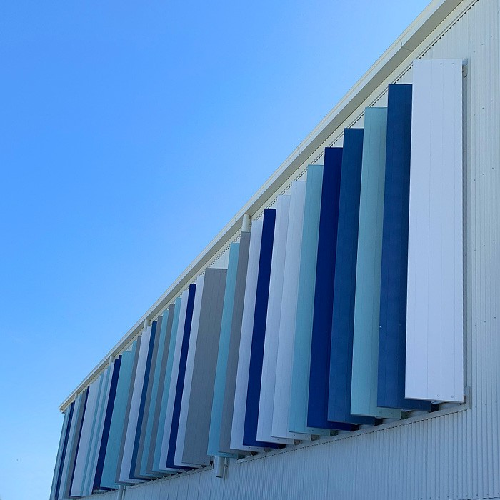 Aluminium Sunshade Panel Screen
