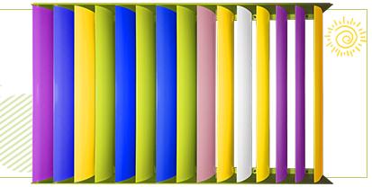 Customized Decoration aluminum louver