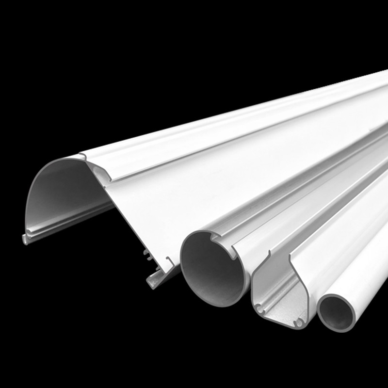 Aluminium Cassette Roller Tube And Bottom Rail For Zebra Blind