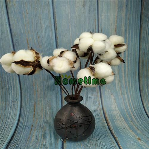 Deco Cotton branches Flower