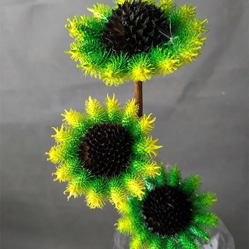 Dried Flower Stems-XanthiumFlower