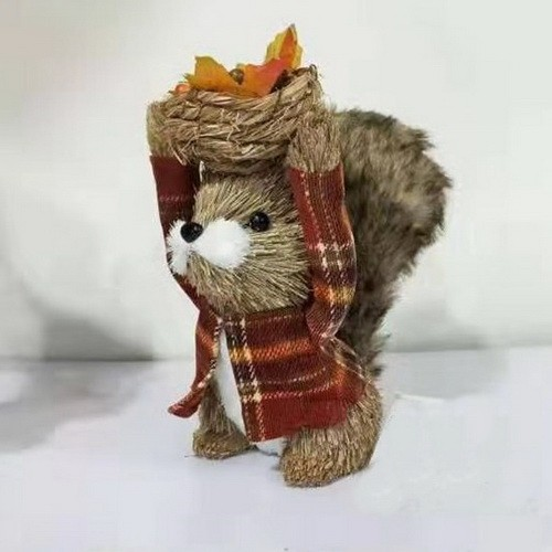 AUTUMN DECO SQUIRREL
