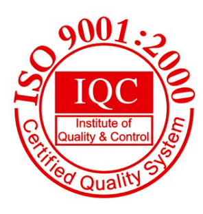 ISO 9001 Certifcate