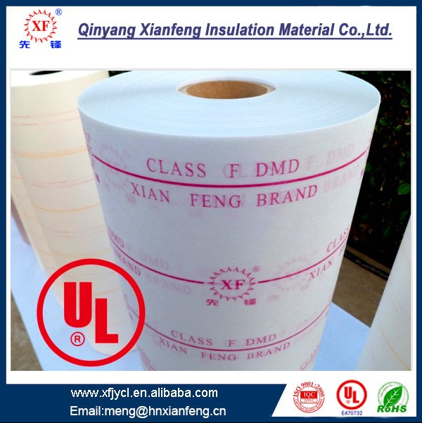 High Temperature Laminated Insulation Material With Dacron And Mylar
