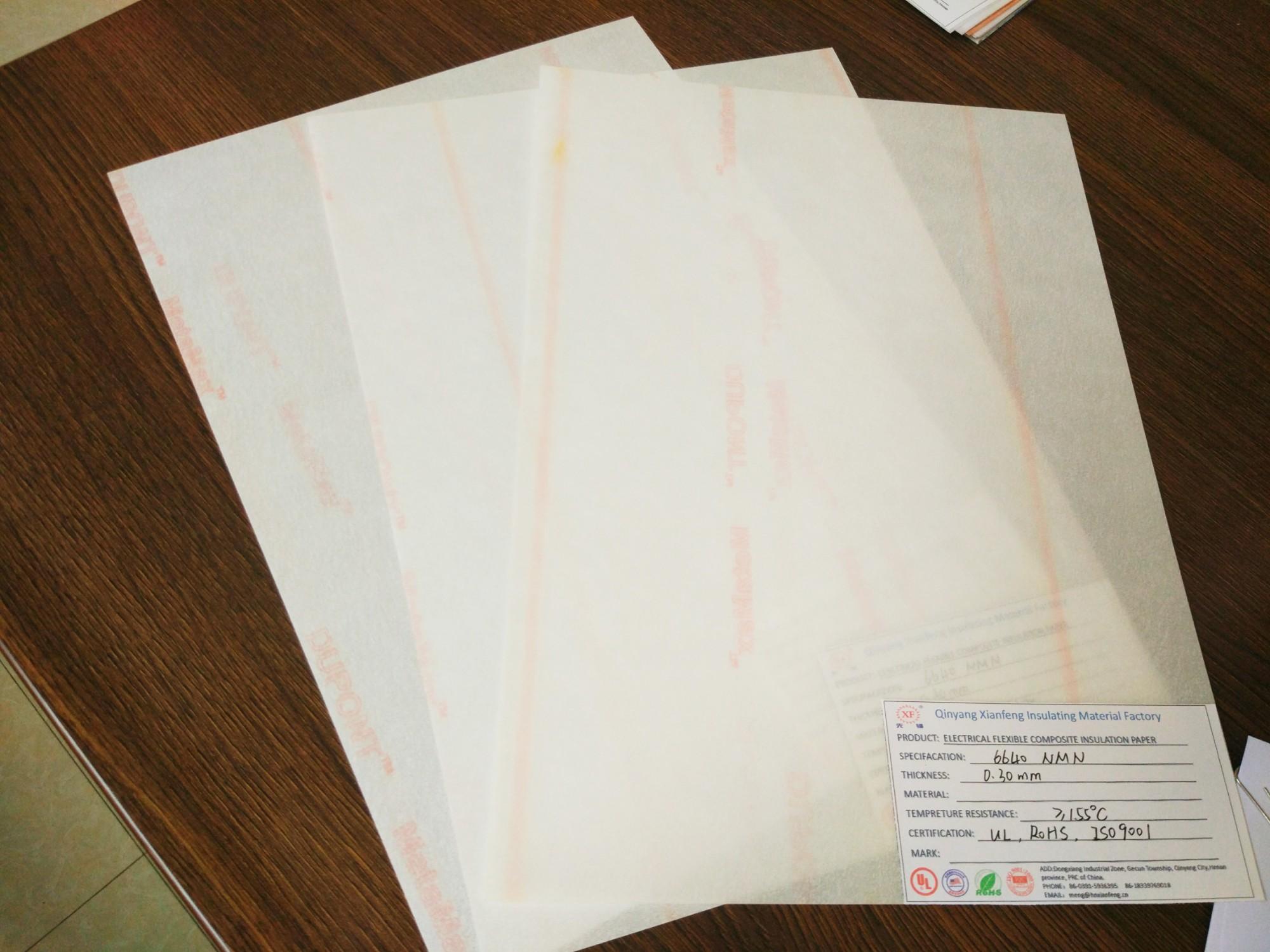 F grade Insulation paper NMN