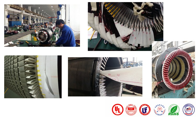 NHN motor use insulating material