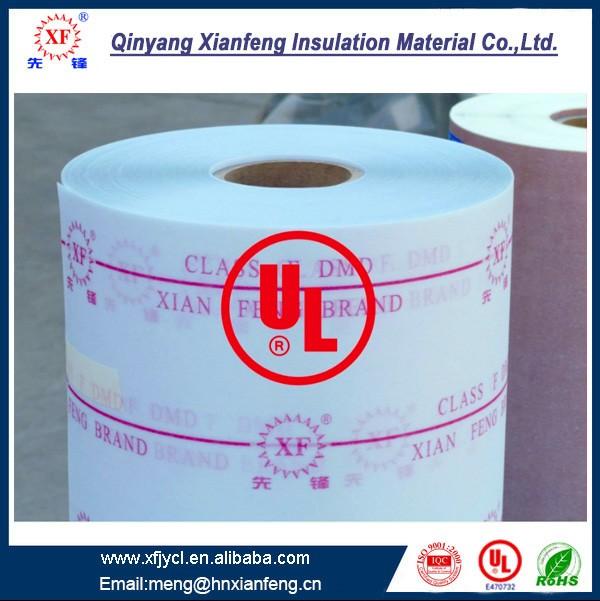 Non-țesute Fabric cu poliester Film hârtie izolație