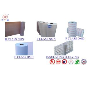6650 NKN/NHN 0.20mm Flexible Laminate Transformer Insulation Paper Electrical Insulation Material Film