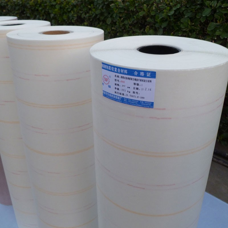 Fiber Paper Compound With The Polyester Film NMN