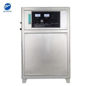Ozone Generator With Oxygen Feeding