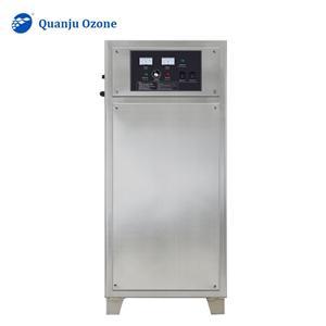 Ozone Generator With Air Feeding