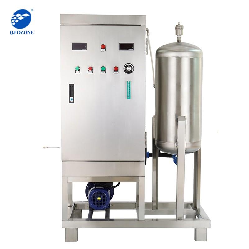La production d'eau ozonée