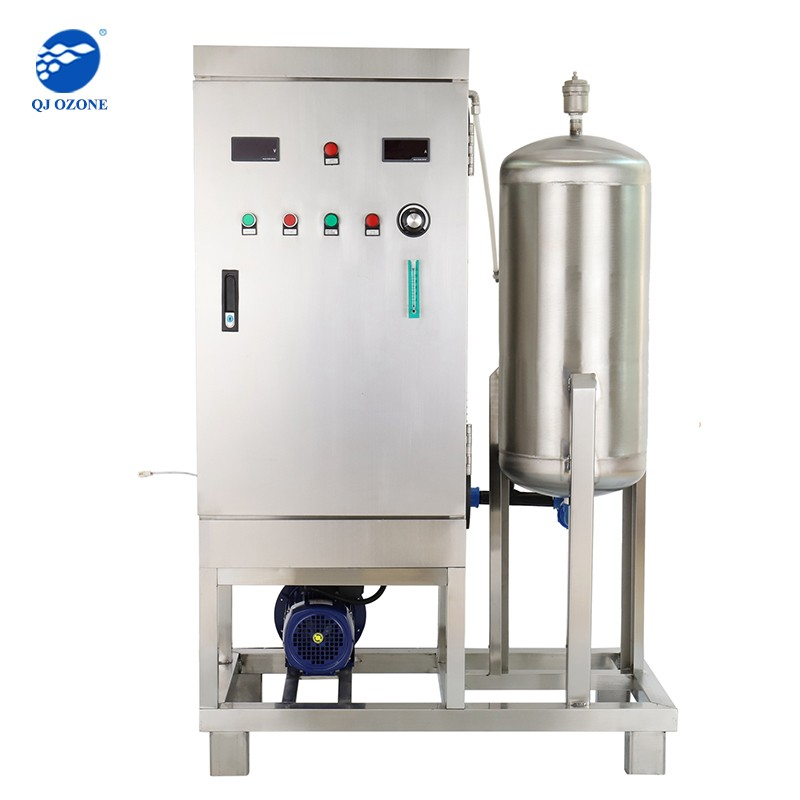 Ozone Generator With Mixing Pump