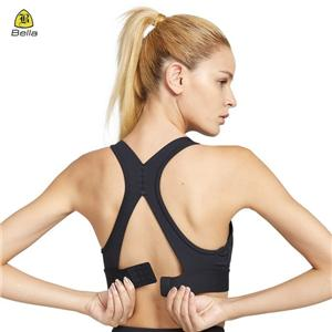 Racerback Gym Top Adjustable Sports Bra