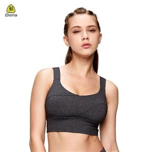 Medium Support Gym Tops Girls Sports Bra Yoga