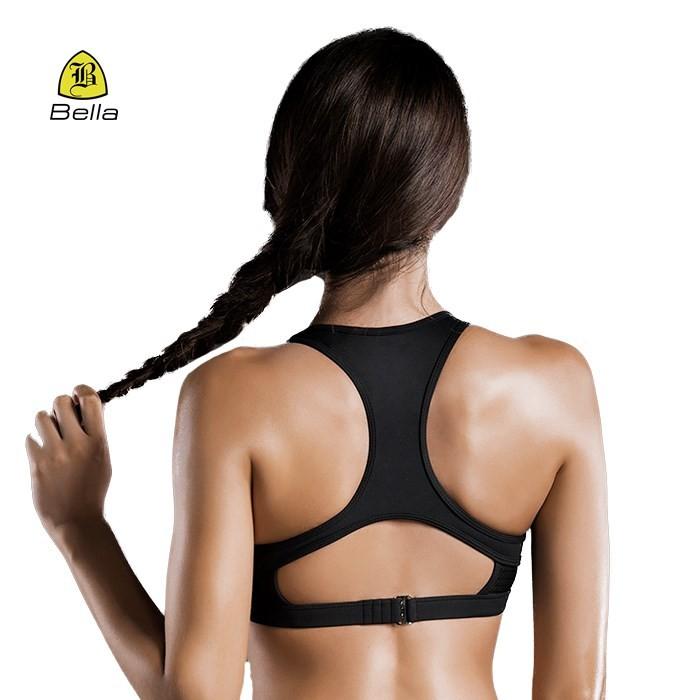 Padded Girls Yoga Wear Sport Bra Push Up